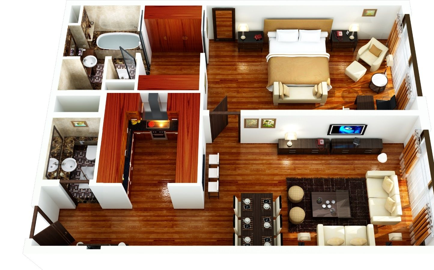 One Bedroom Furnished  Serviced ApartmentGrosvenor House Dubai   1 Bedroom Furnished  Serviced Apartments  . One Bedroom Apartment. Home Design Ideas