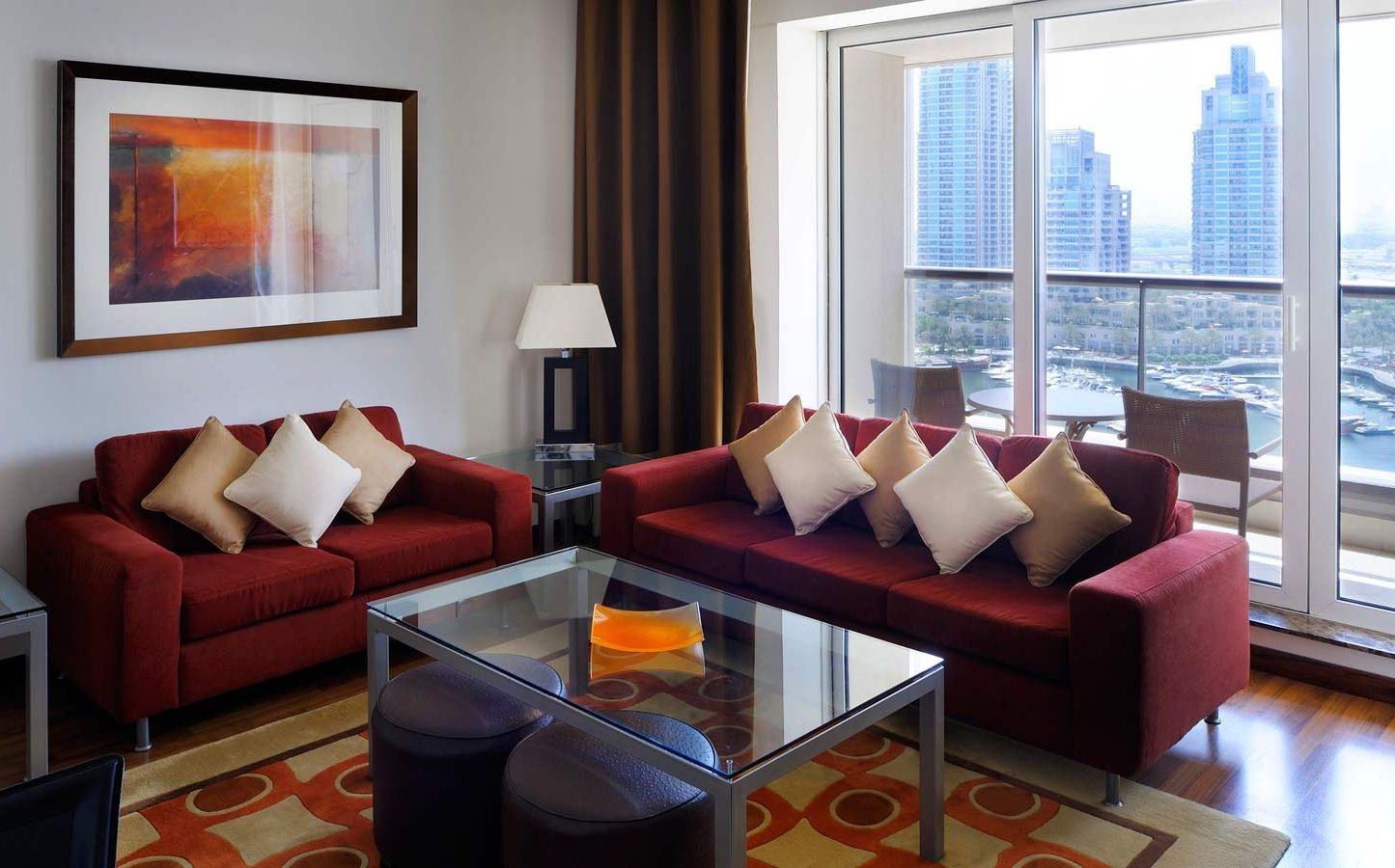 Two Bedroom Furnished  Serviced Apartment. Grosvenor House Dubai   2 Bedroom Furnished  Serviced Apartments